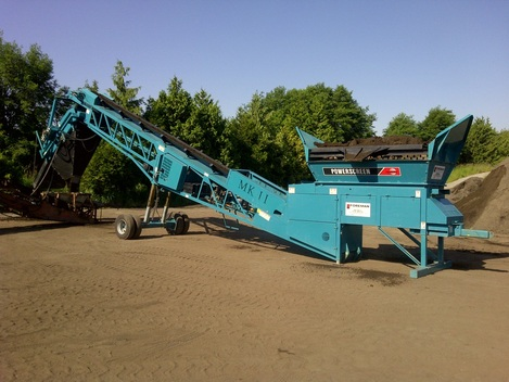 Powerscreen MKII working